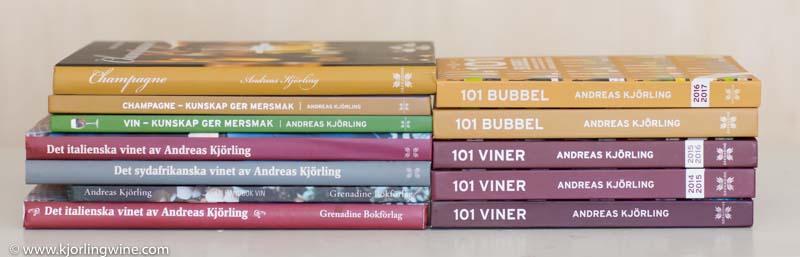 Böcker jag givit ut sedan debuten 2004.