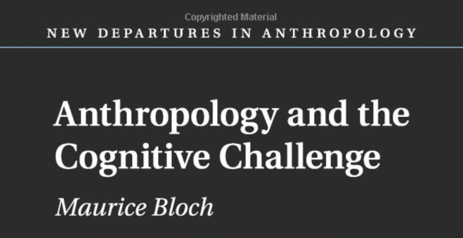 Boktips – Anthropology and the Cognitive Challenge