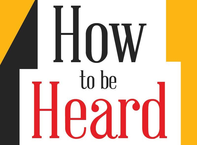 Boktips – How to be heard