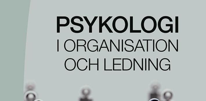 Boktips – Psykologi i organisation och ledning